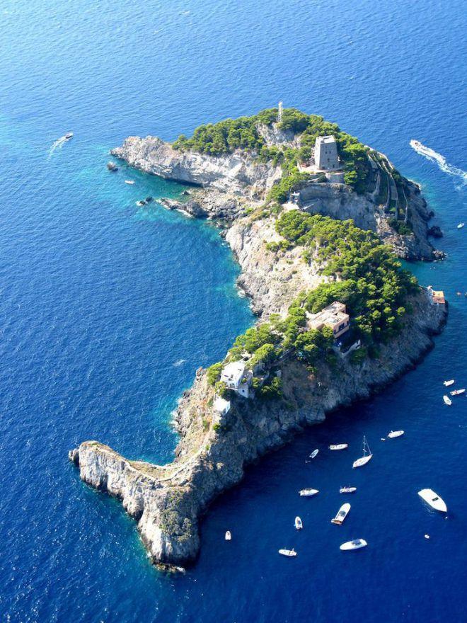 Остров Li Galli